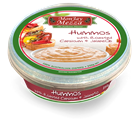 Picture of  HUMMOS WITH ROASTED CAPSICUM & JALAPENO DIP 250G