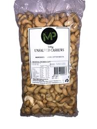 Picture of MP CASHEWS UNSALTED 500G