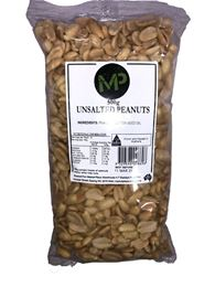 Picture of MP PEANUTS UNSALTED 500G