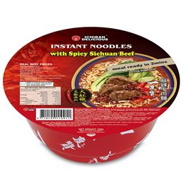 Picture of ICHIBAN SPICY SICHUAN BEEF NOODLE BOWL