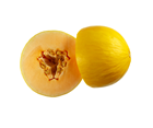 Picture of Melons - Orange Candy Half
